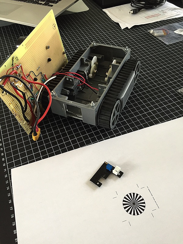 minibot mit Encoder im Überblick