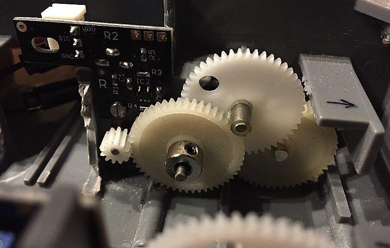 minibot Radencoder für den RP5/RP6 mit Aufkleber als Download