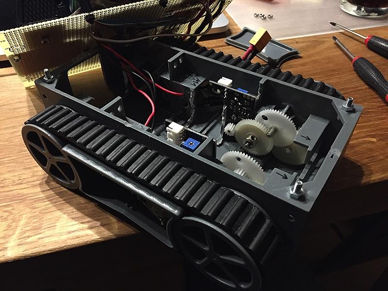 minibot Beide Encoder montiert