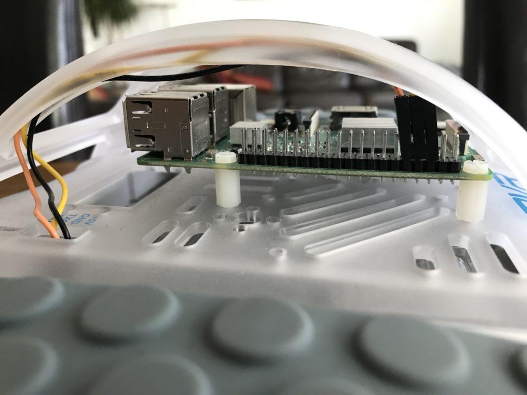 Sphero RVR Montage Raspberry Pi