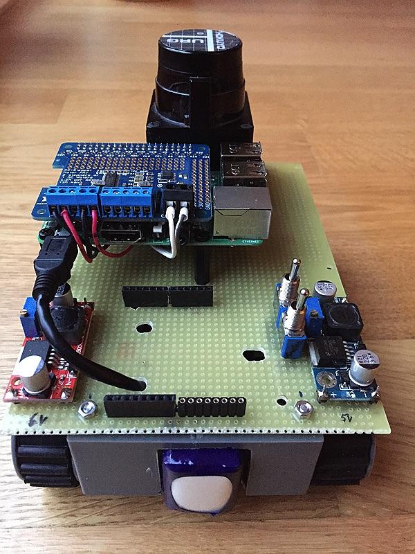 minibot - von hinten