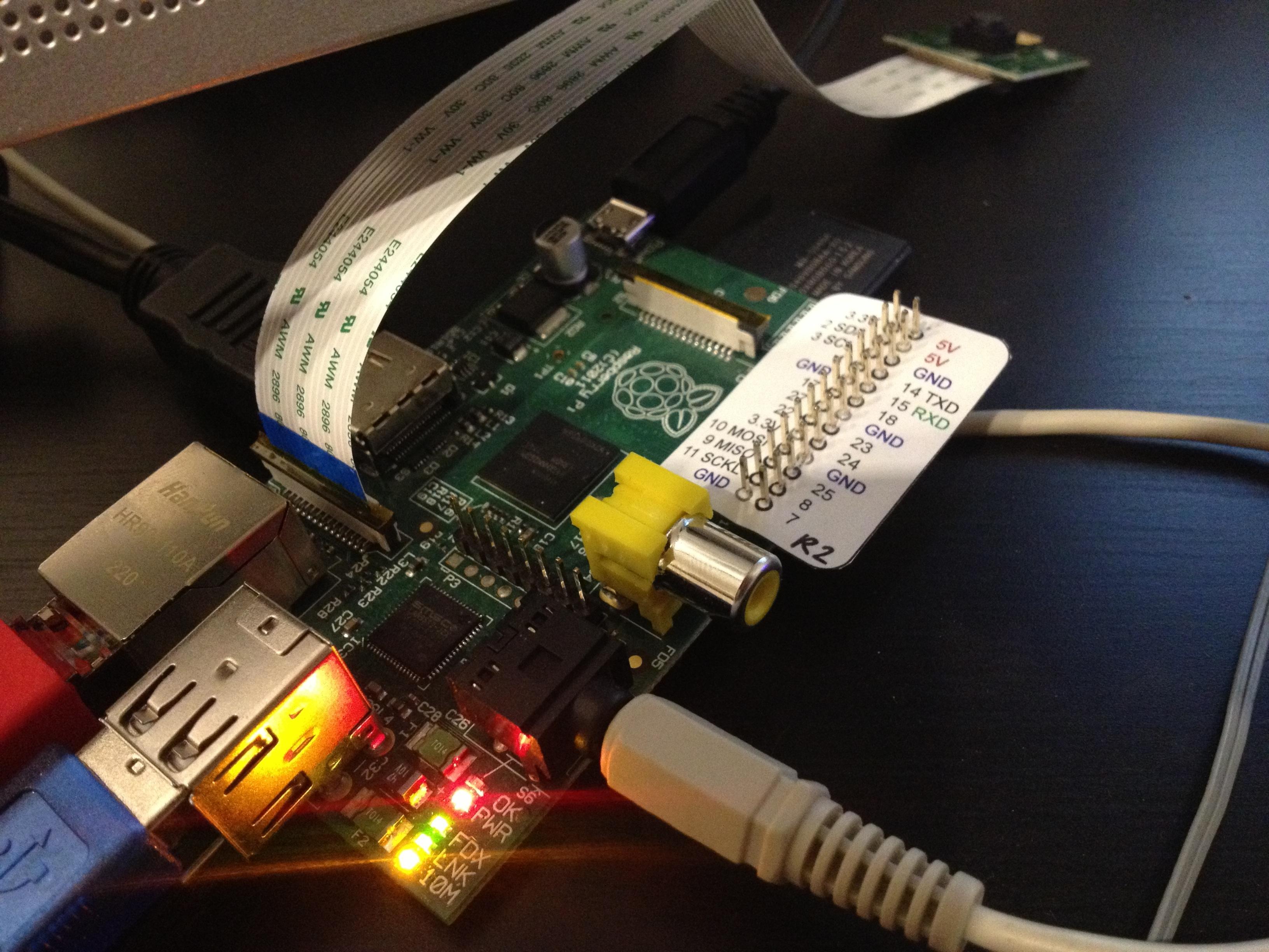 Raspberry Pi mit praktischer Pin-Referenz
