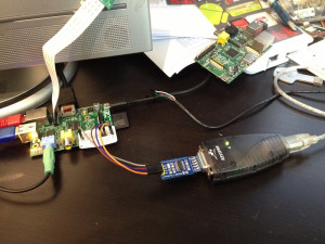 RS-232 nach TTL-Wandler am Raspberry Pi