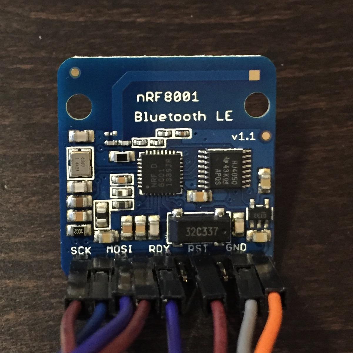 Das Adafruit nRF 8001 Bluetooth LE Modul
