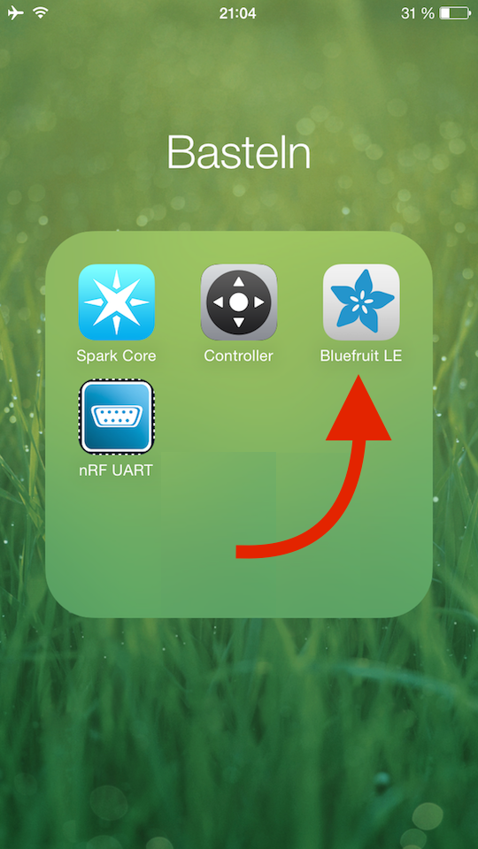 Adafruit Bluefruit iOS-App