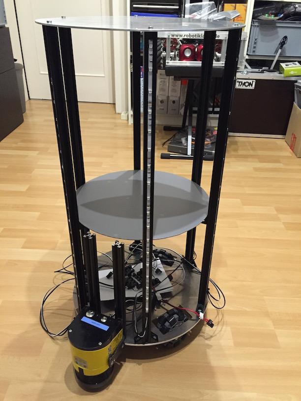 Der Roboter - aktueller Stand
