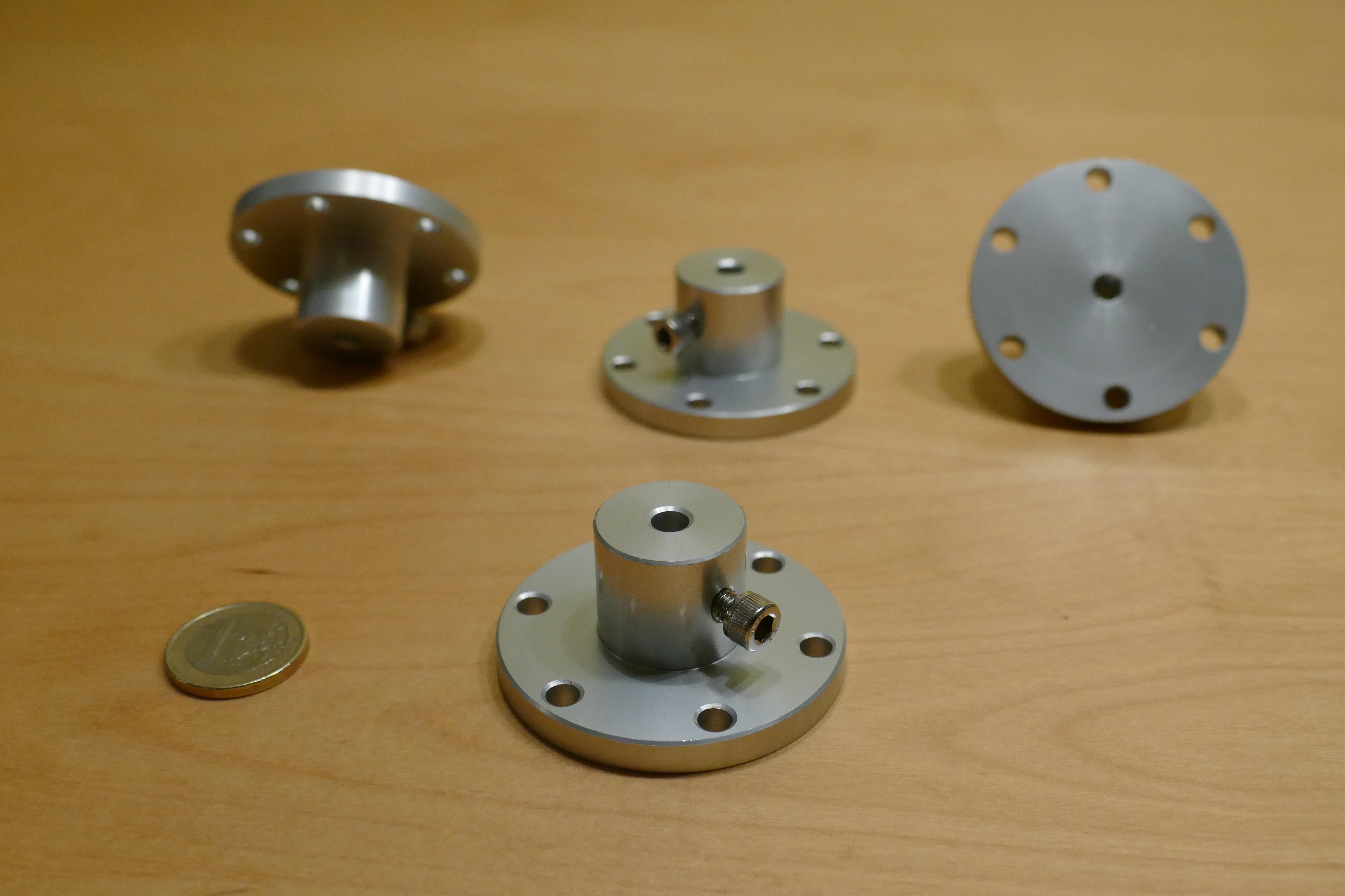 Nexusrobot Aluminium Universal Hub - 6mm (Nex-18007)